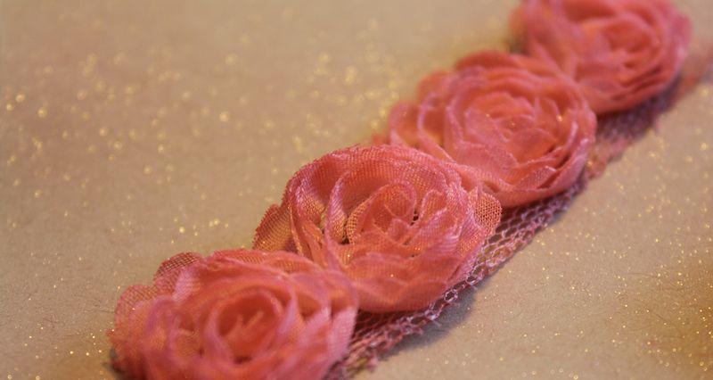 Coral flower trim