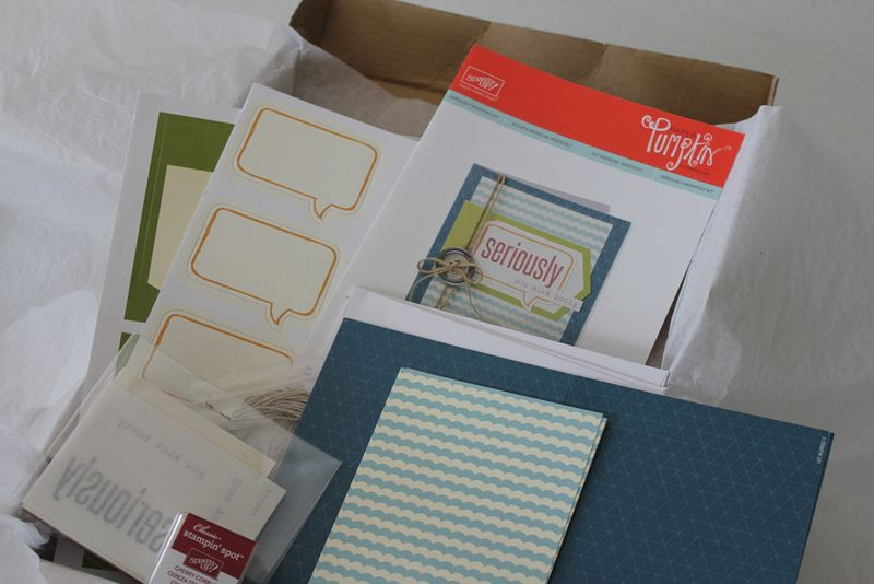April 2013 card supplies