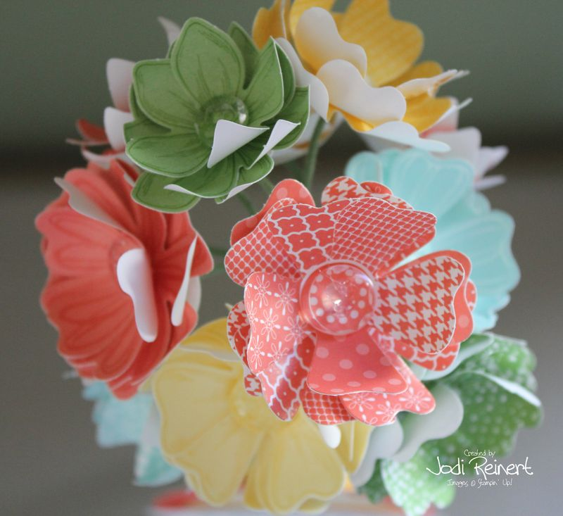 Bloomin' Bouquet kit up close