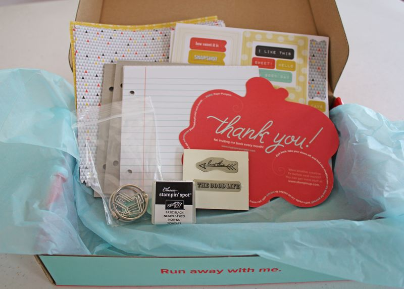 Contents of box