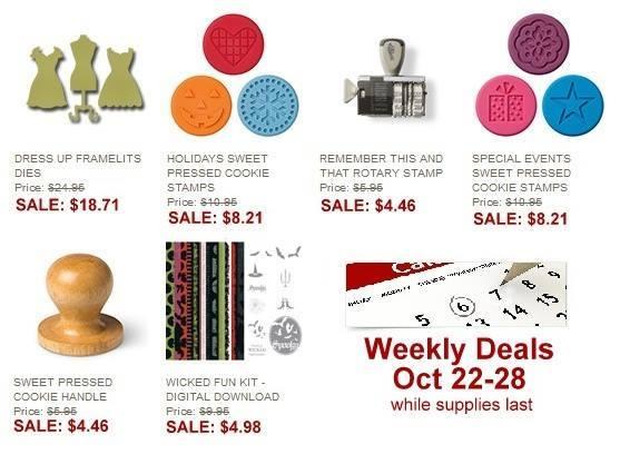 Weekly Deals Oct 22