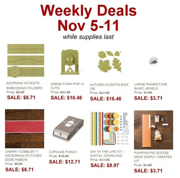 Weekly Deals Nov 5