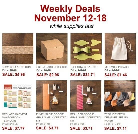 Weekly Deals Nov 12