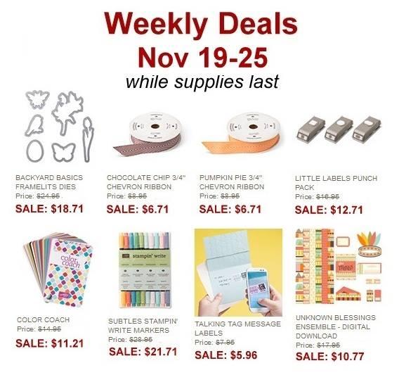 Weekly Deals Nov 19