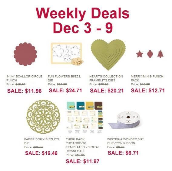 Weekly Deals Dec 3