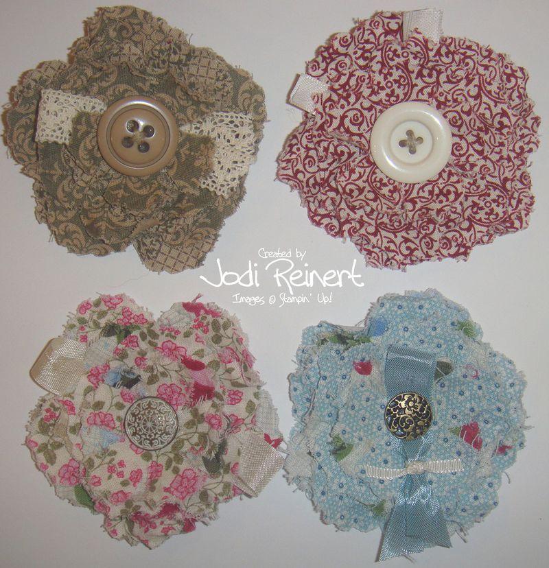 Fabulous Fabric Flowers alone