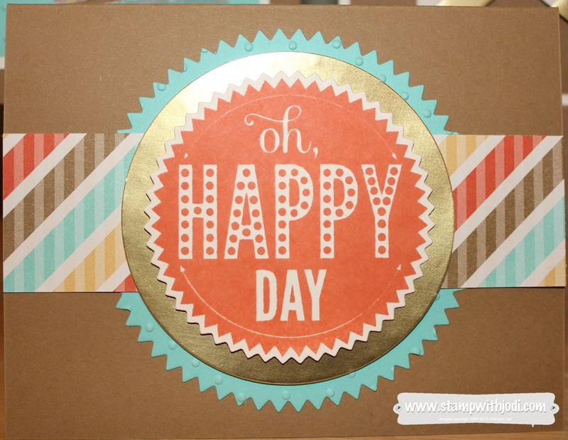Starburst happy day