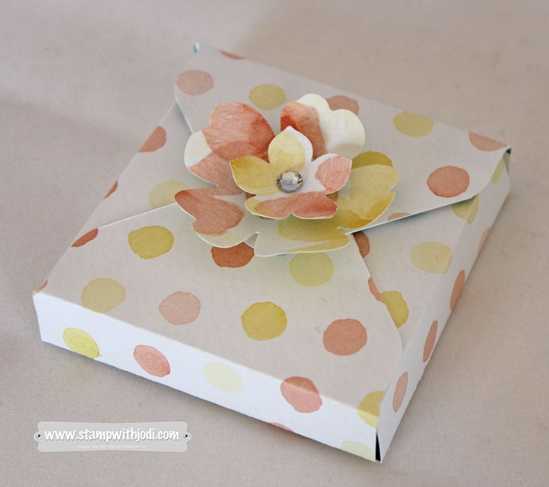 Square treat box