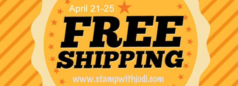 Free shipping apr21