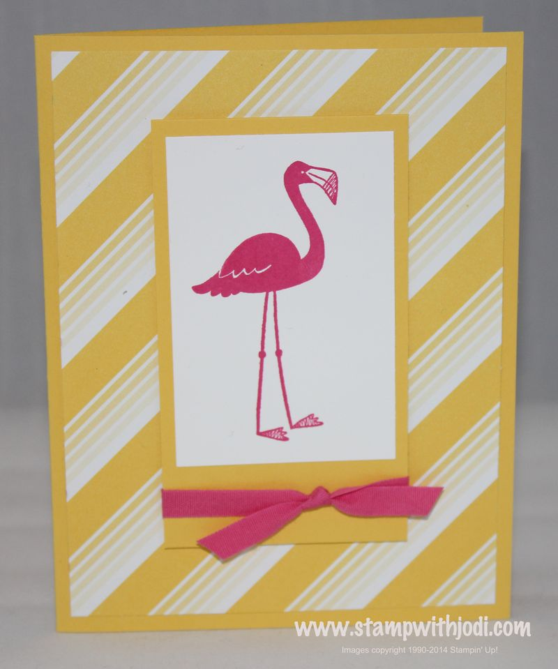 Flamingo yellow