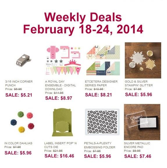 Weekly Deals Feb 18