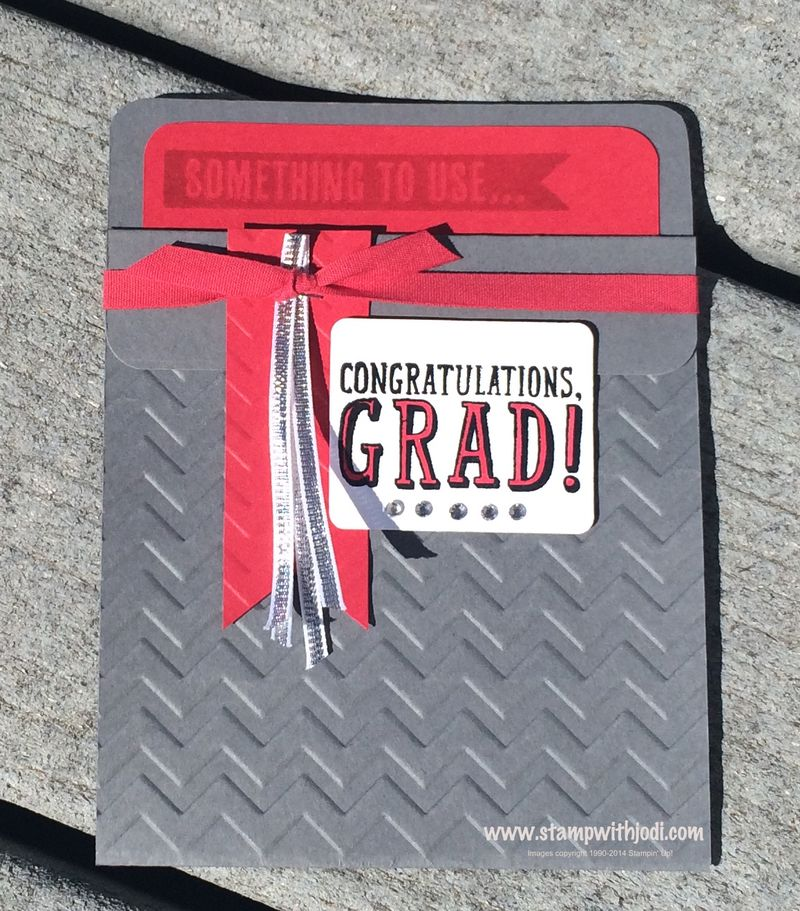 Grad pocket card