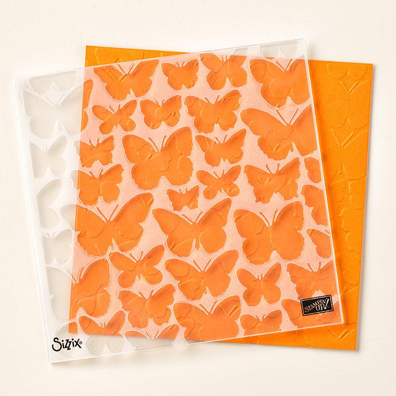 Fluttering folder