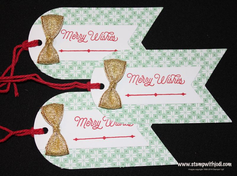 Merry Wishes tag