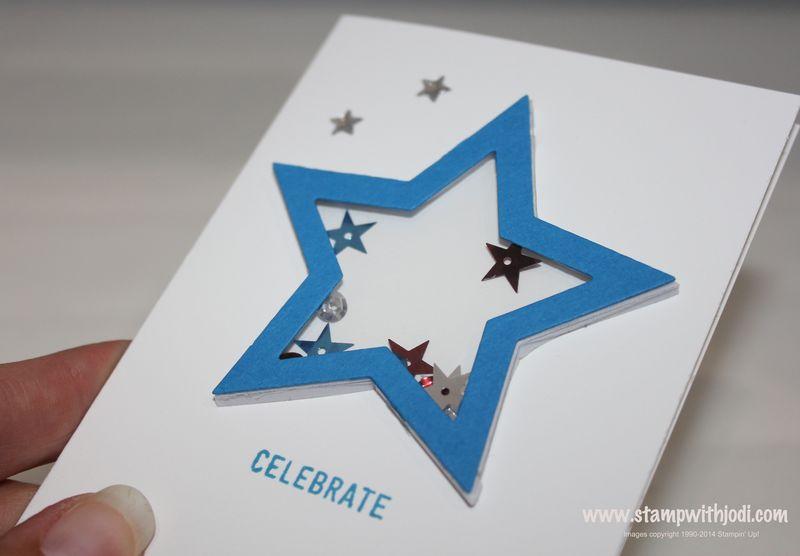 Star shaker up close