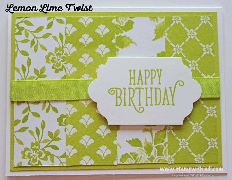 Lemon Lime Twist