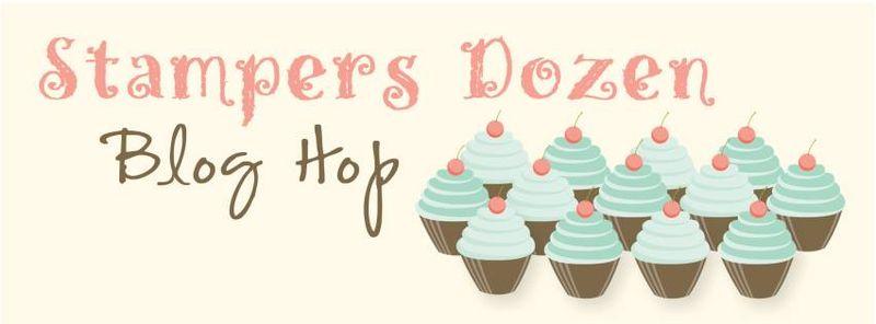 Stampers Dozen Blog Hop banner