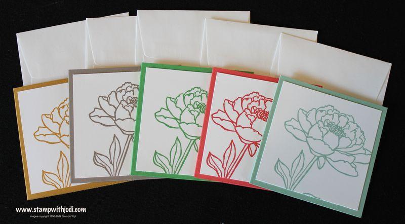 In Color bundle cards
