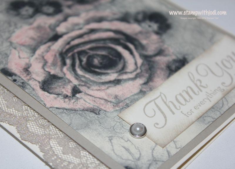Timeless Elegance card up close
