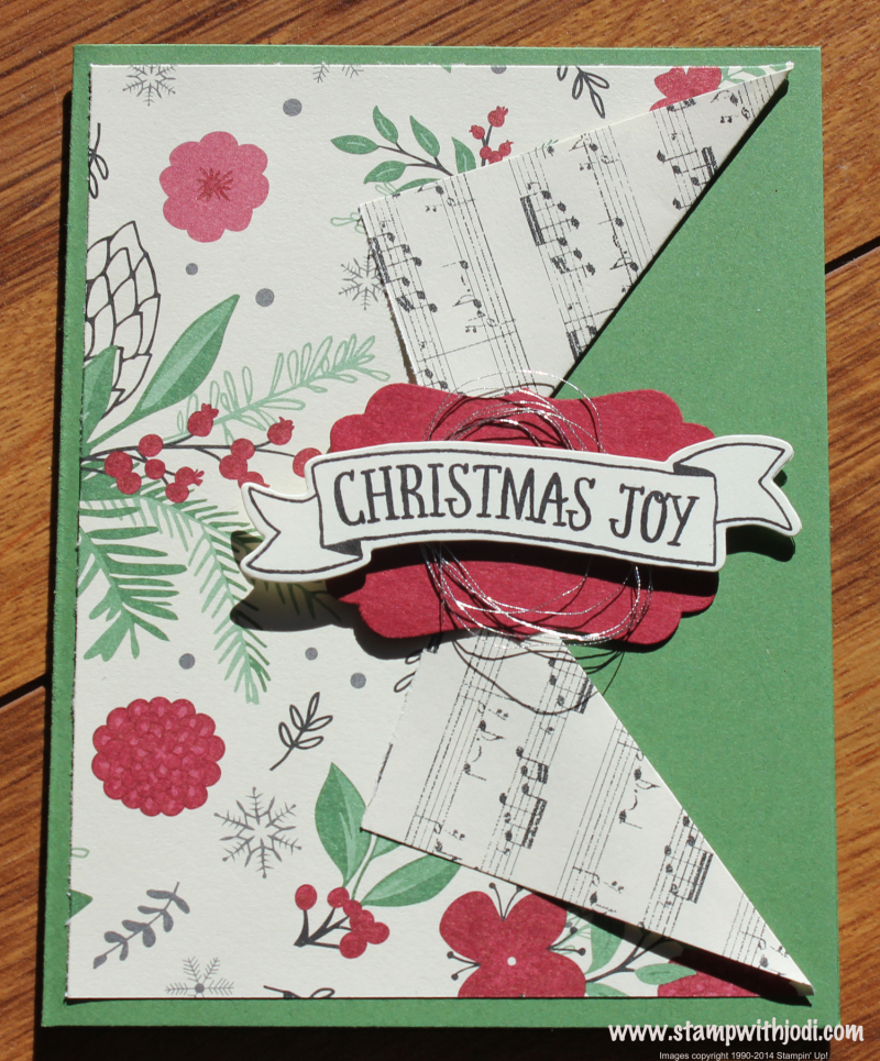 This Christmas fun fold card