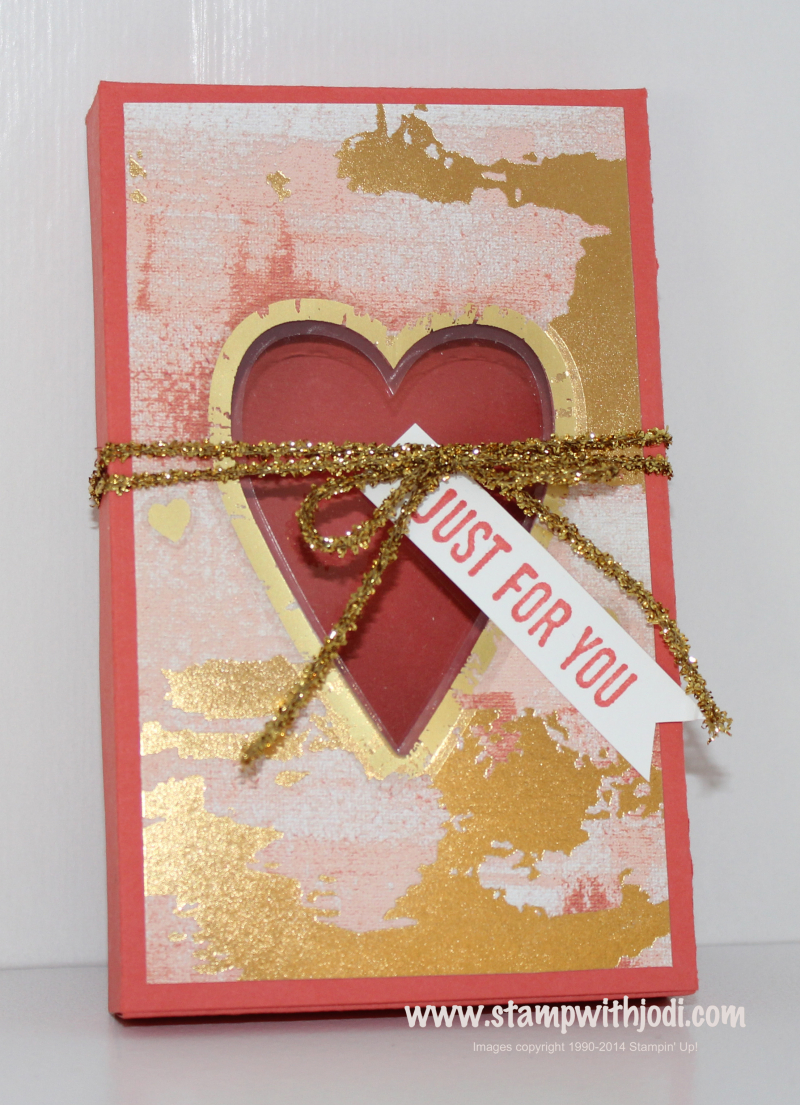 Painted with Love narrow box