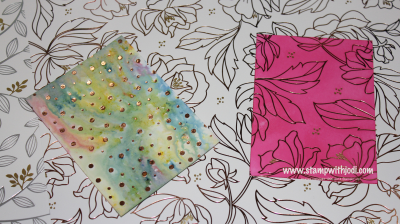 Springtime Foils samples