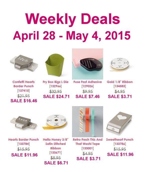 Weekly deals april 28