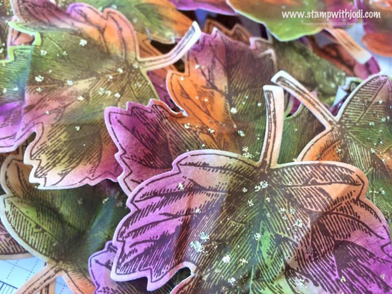 FC swap vintage leaves glitter