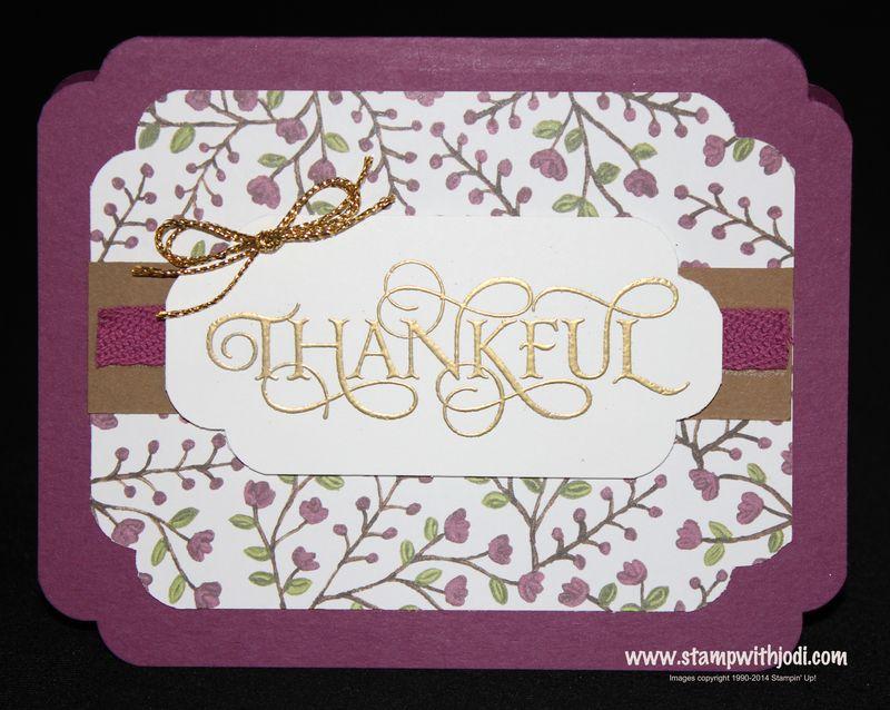 Six Sayings Thankful