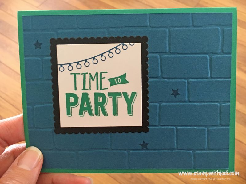 Time to Party blog hop