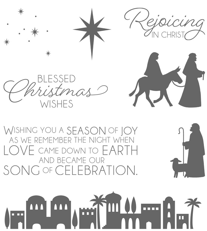 Night in Bethlehem set