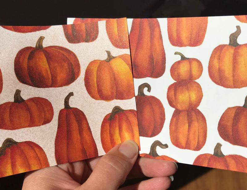 Thankful pumpkin compare