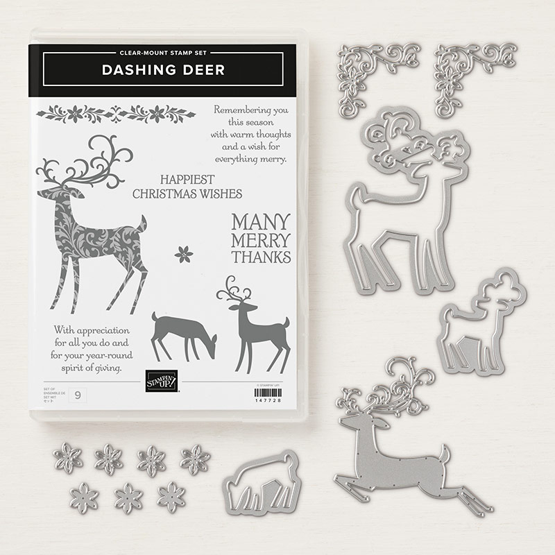 Dashing deer bundle