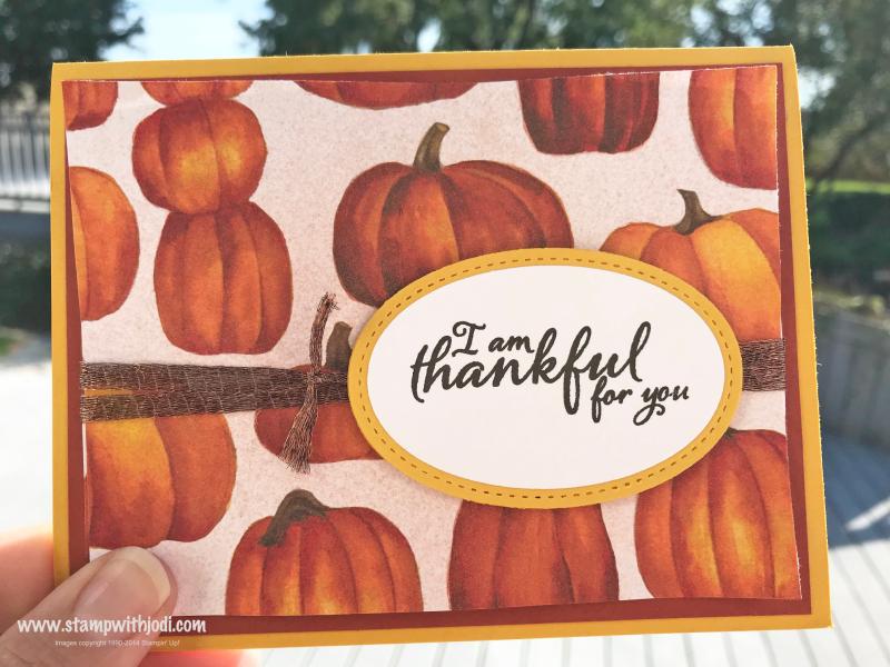 Thankful pumpkin shimmer