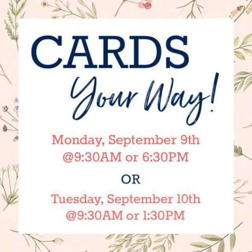Cards your way